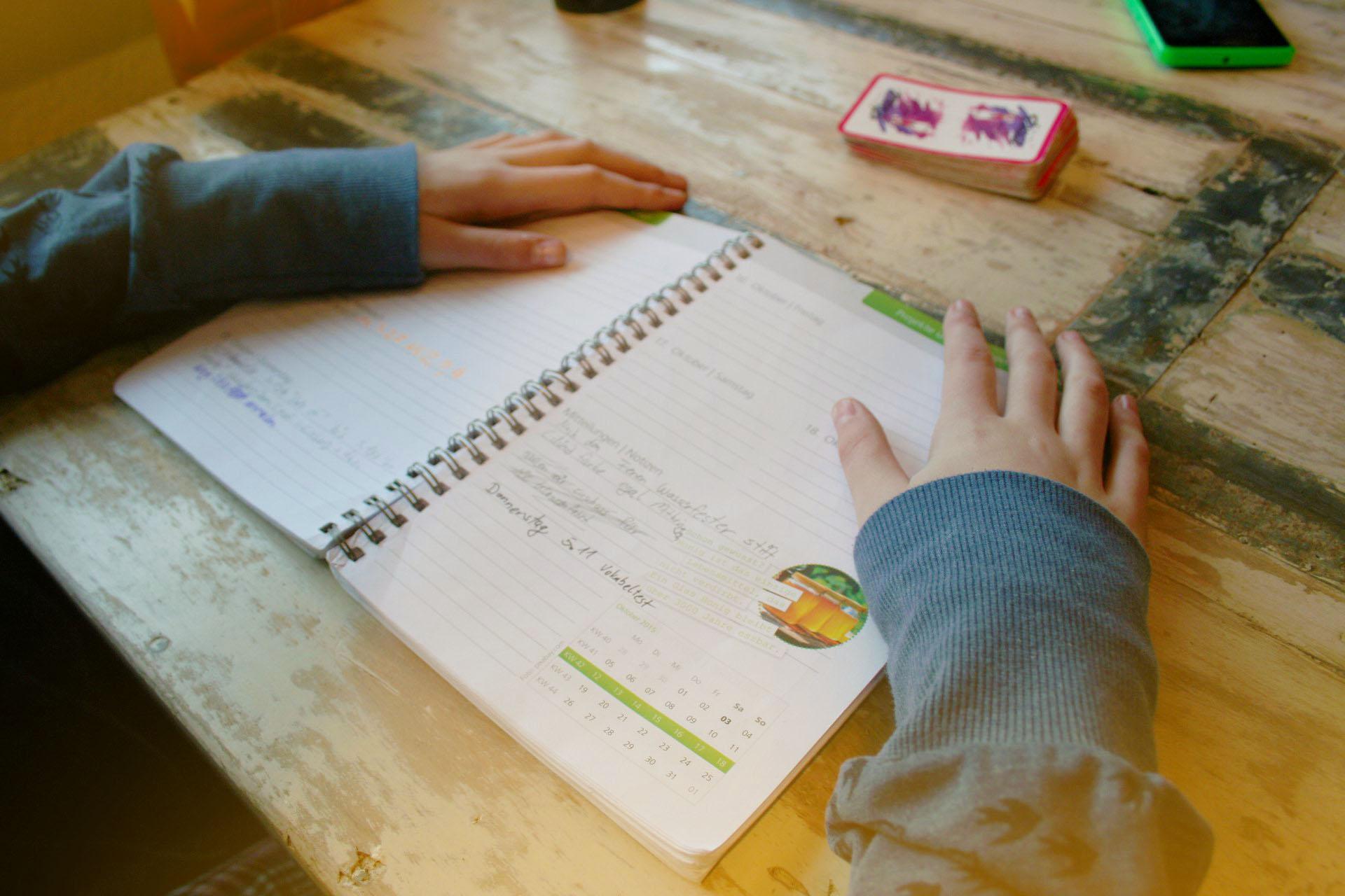 Mein Schülerplaner entdecken
